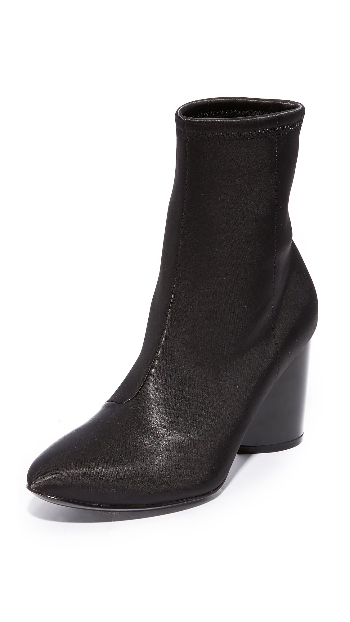 Opening Ceremony Dylan Satin Booties - Black