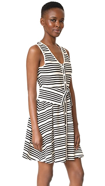 Opening Ceremony Striped Dress