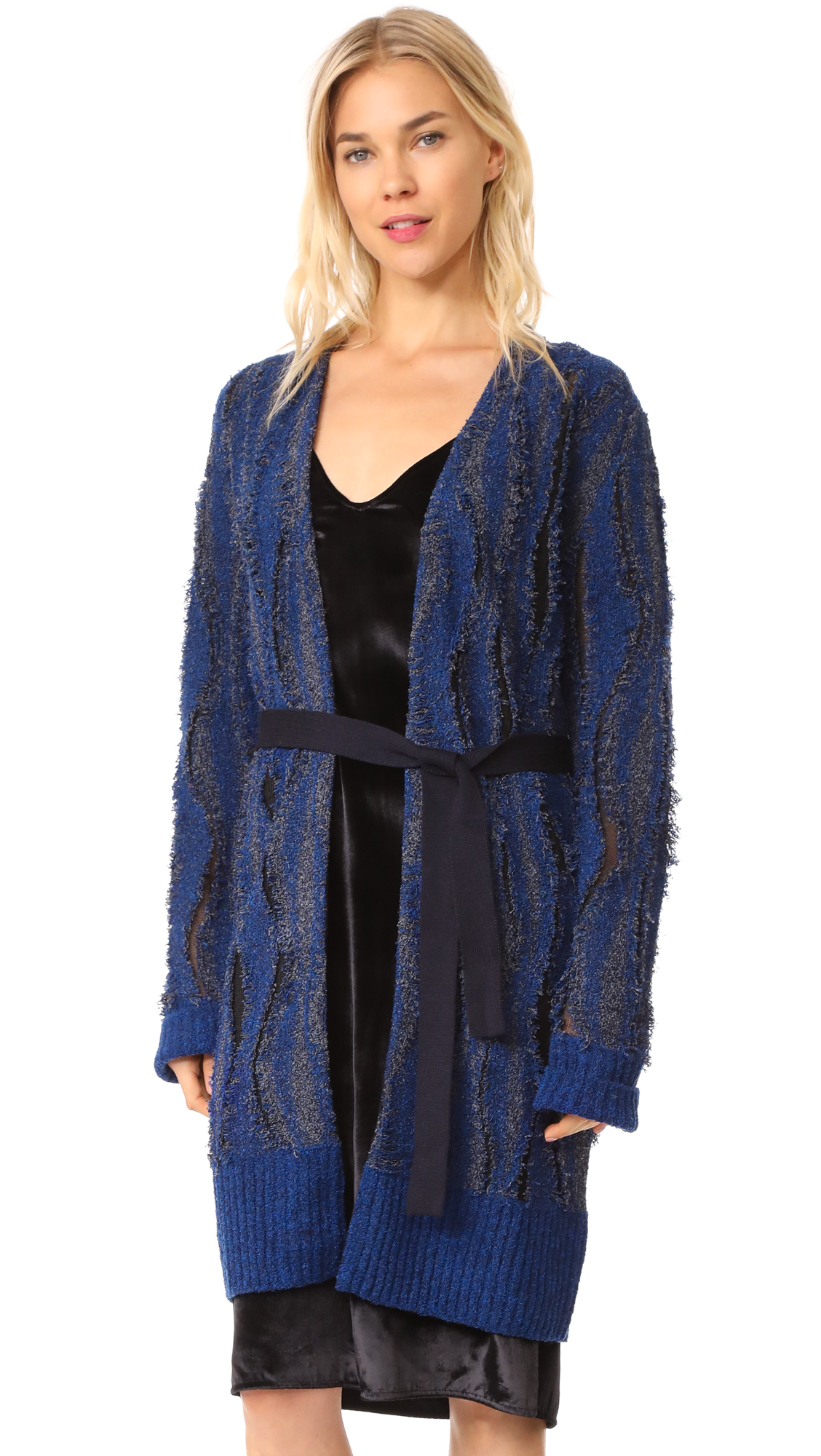 Opening Ceremony Boucle Jacquard Cardigan - Eclipse Multi