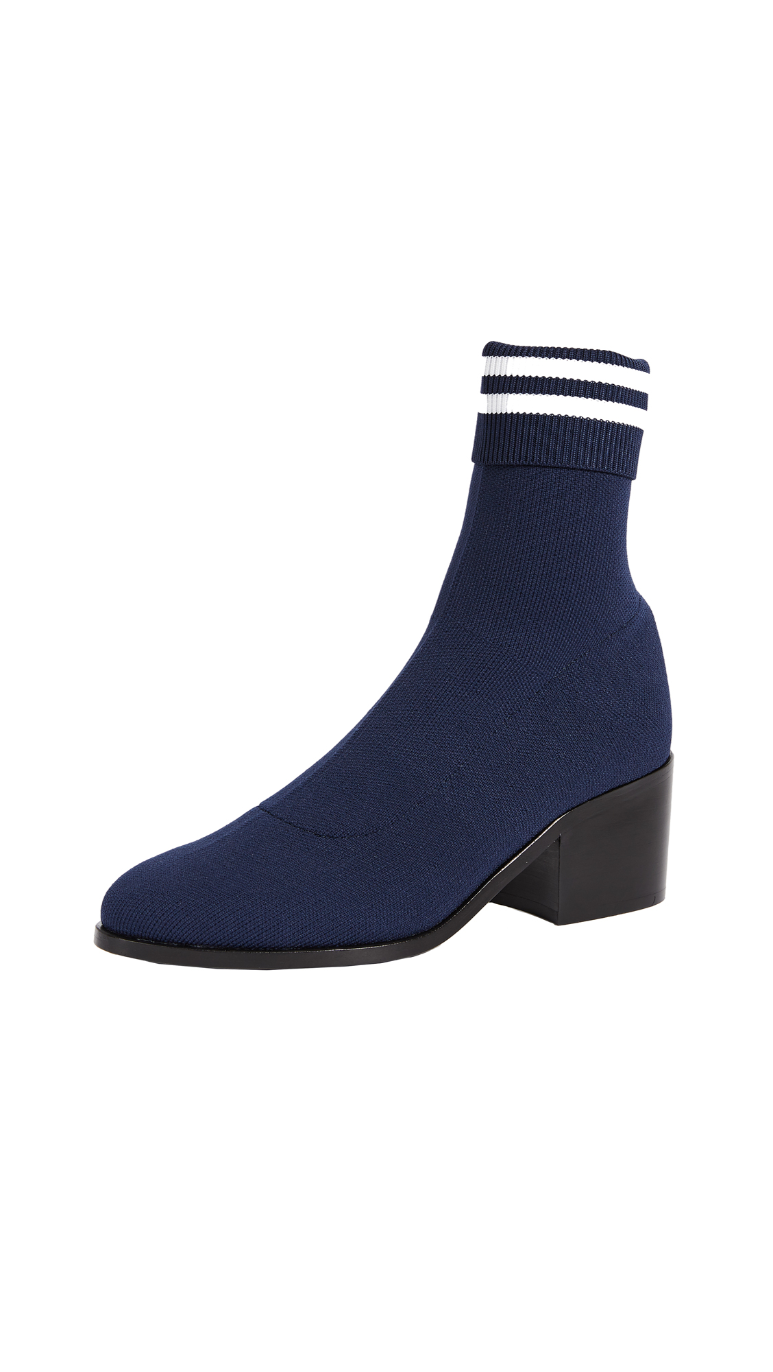 Opening Ceremony Court Ankle Booties - Collegiate Navy