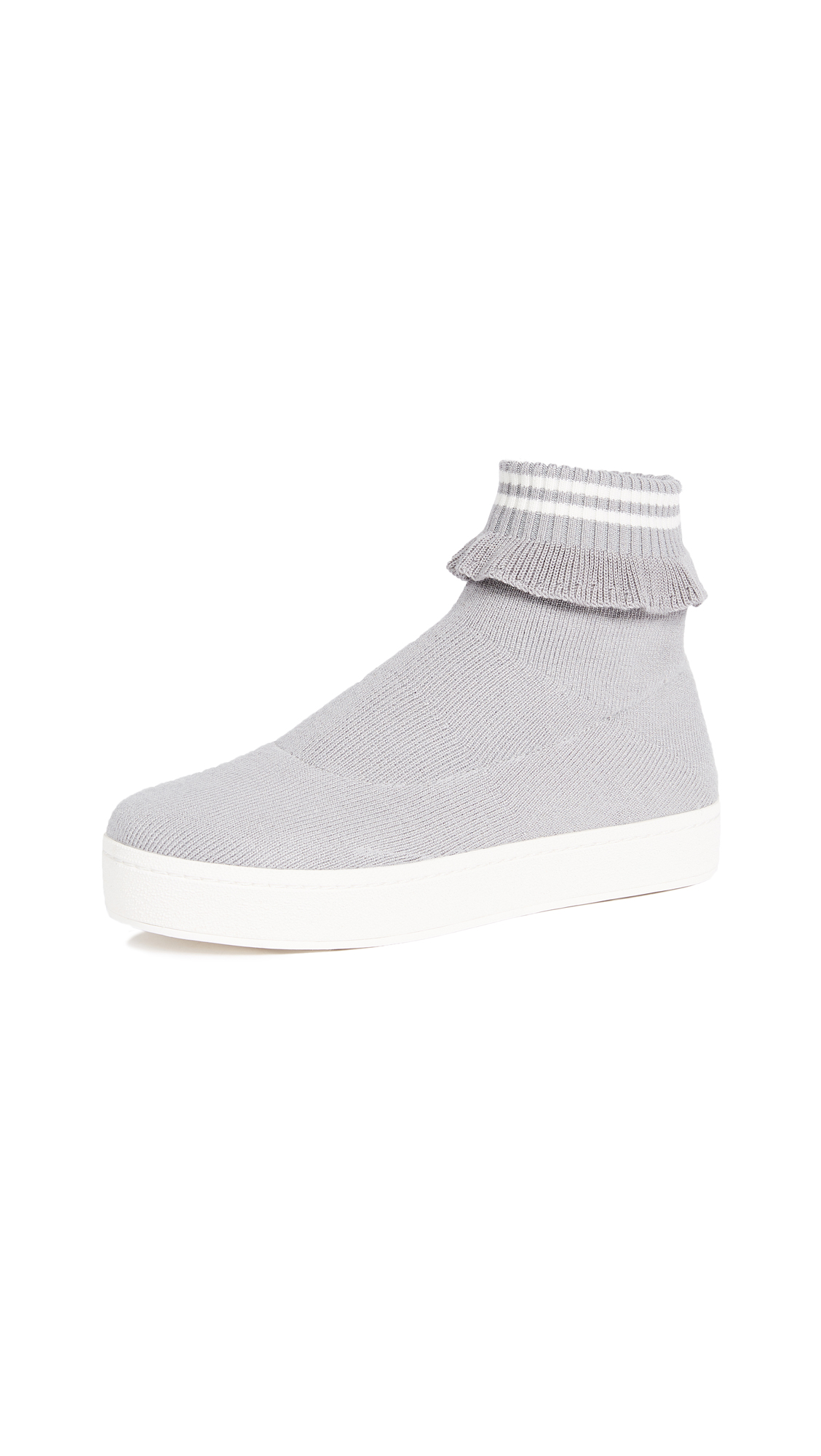Opening Ceremony Bobby Slip On Sneakers In Heather Grey