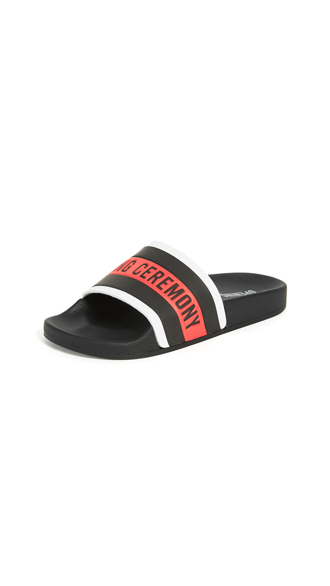 Opening Ceremony Ace Slides - Black Multi