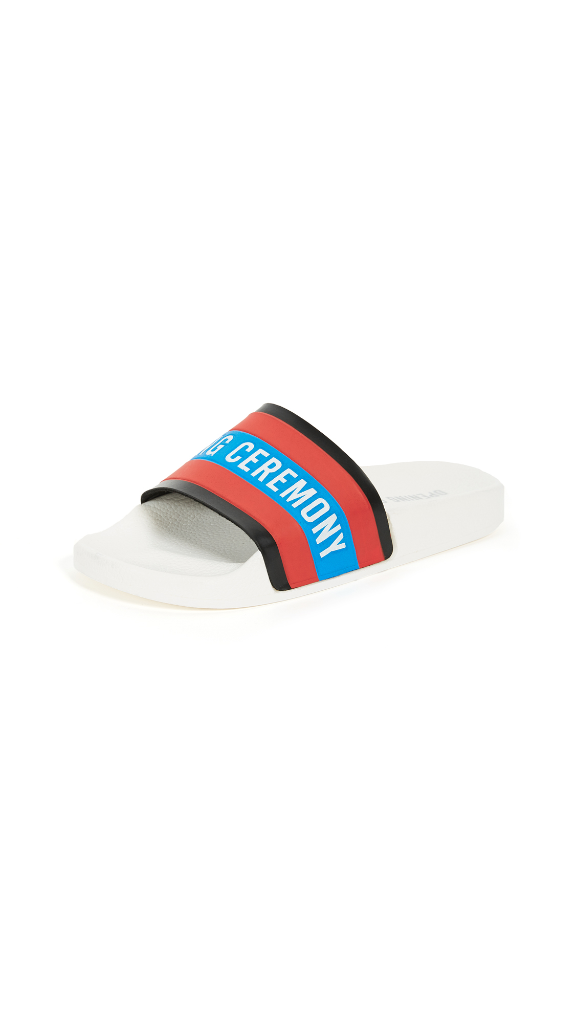 Opening Ceremony Ace Slides - White Multi