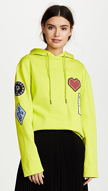 Opening Ceremony Sorority Patch Hoodie