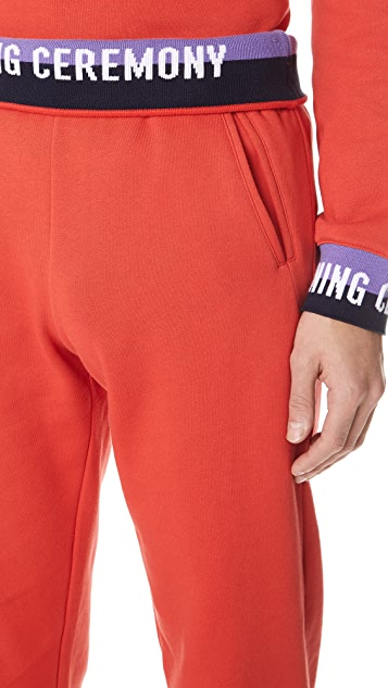 Opening Ceremony Elastic Logo Sweatpants