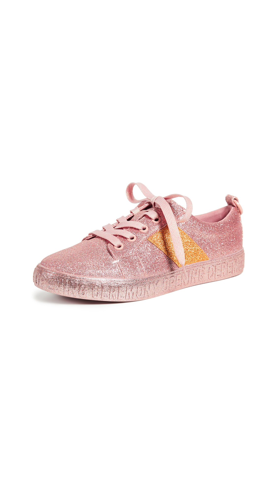 Opening Ceremony La Cienega Glitter Sneakers - Pink