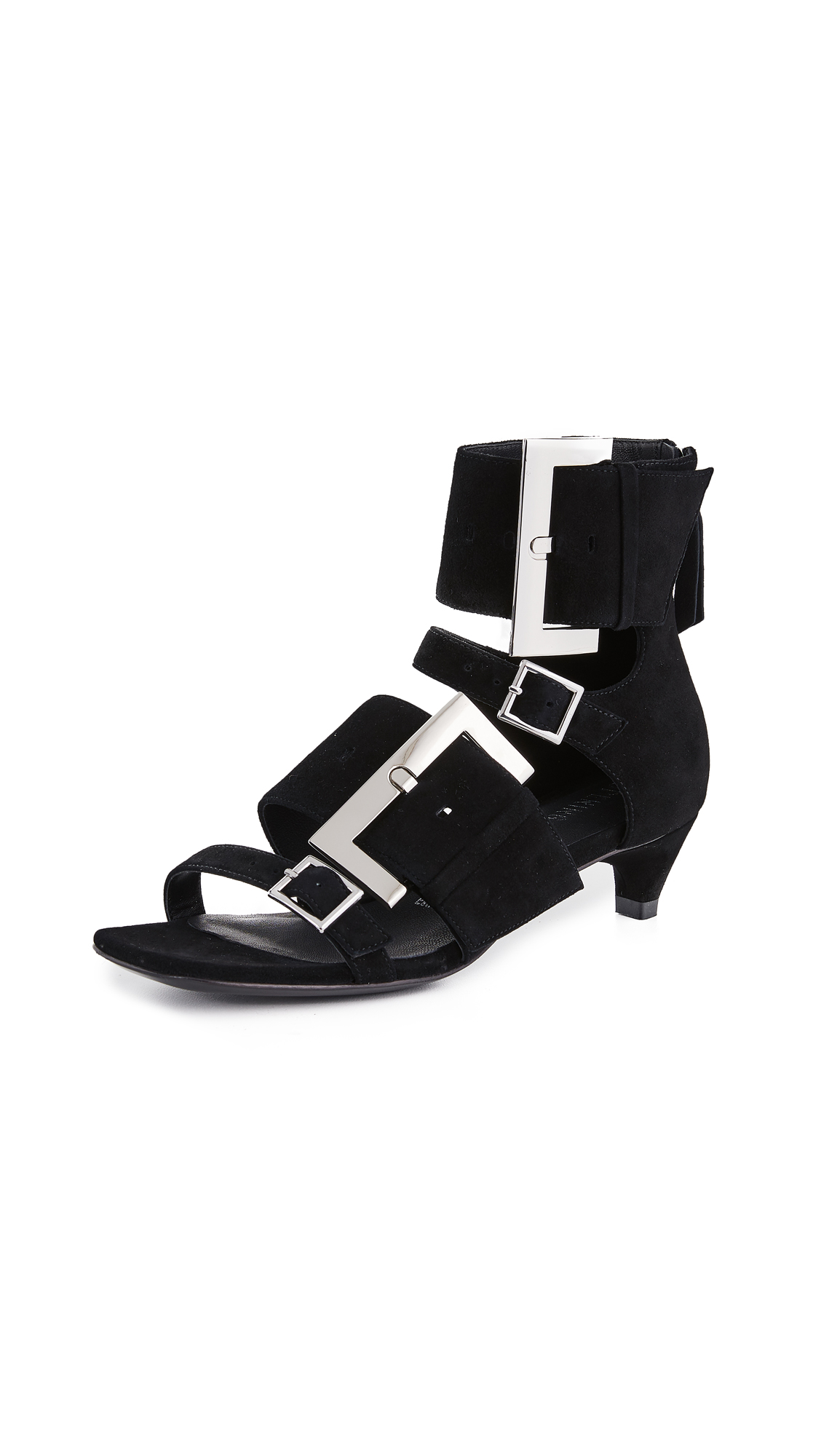 Opening Ceremony Ozzy Buckle Sandals - Black