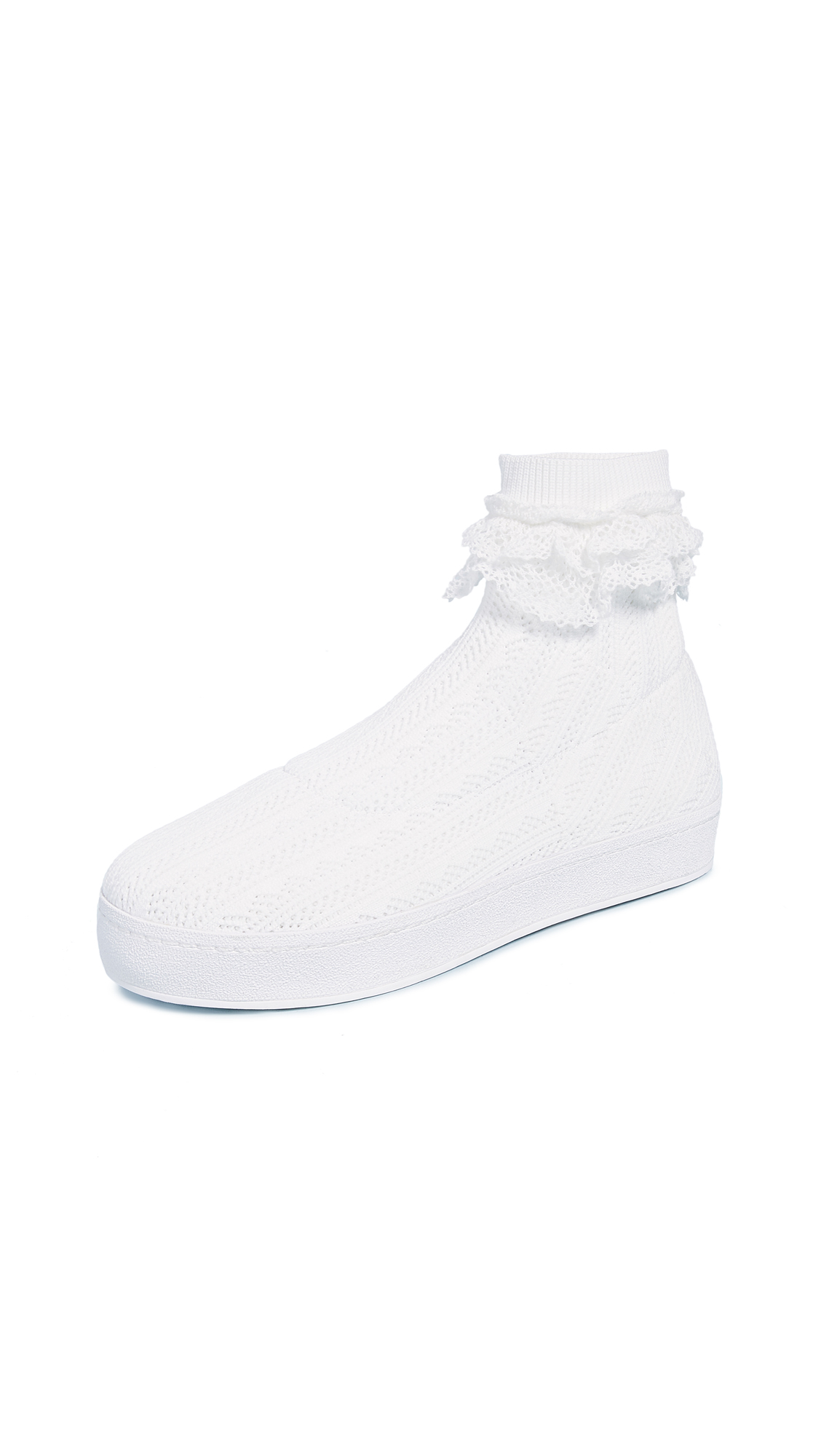Opening Ceremony Bobby Lace Sneakers - White