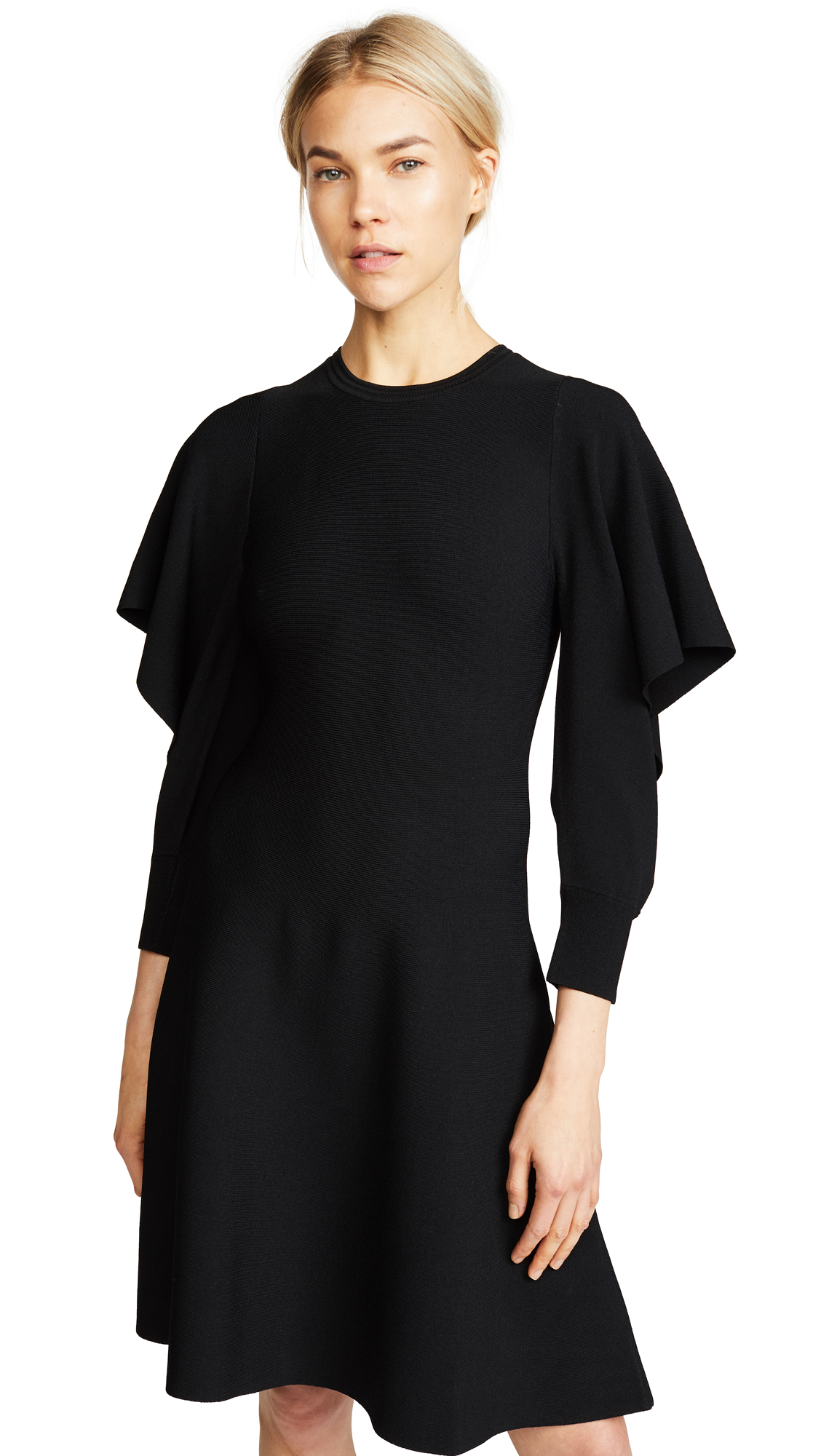Opening Ceremony Flounce Sleeve Dress