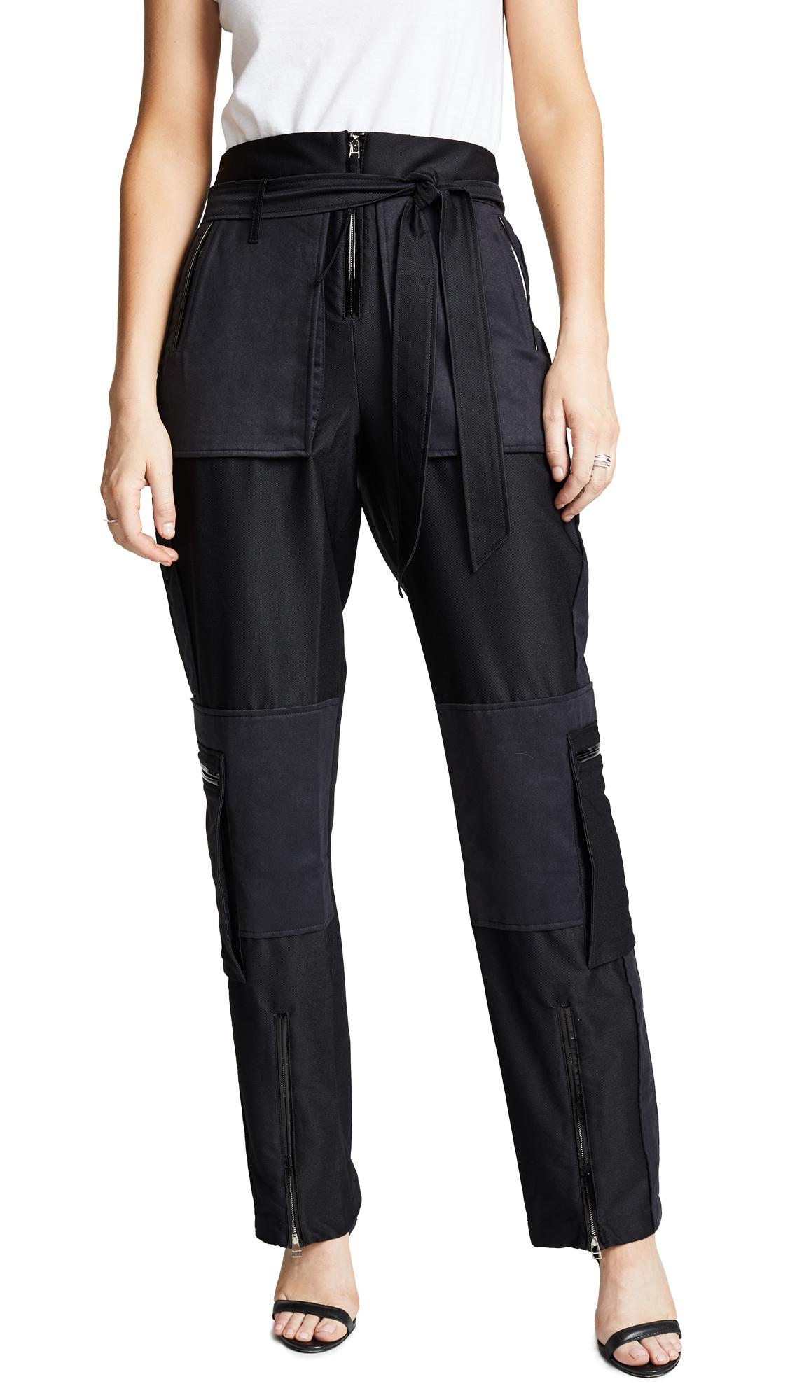 Military Pants, Black