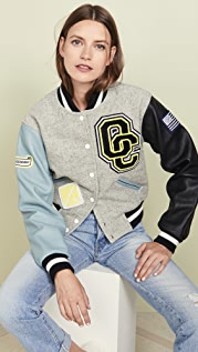 Opening Ceremony Shrunken Varsity Jacket