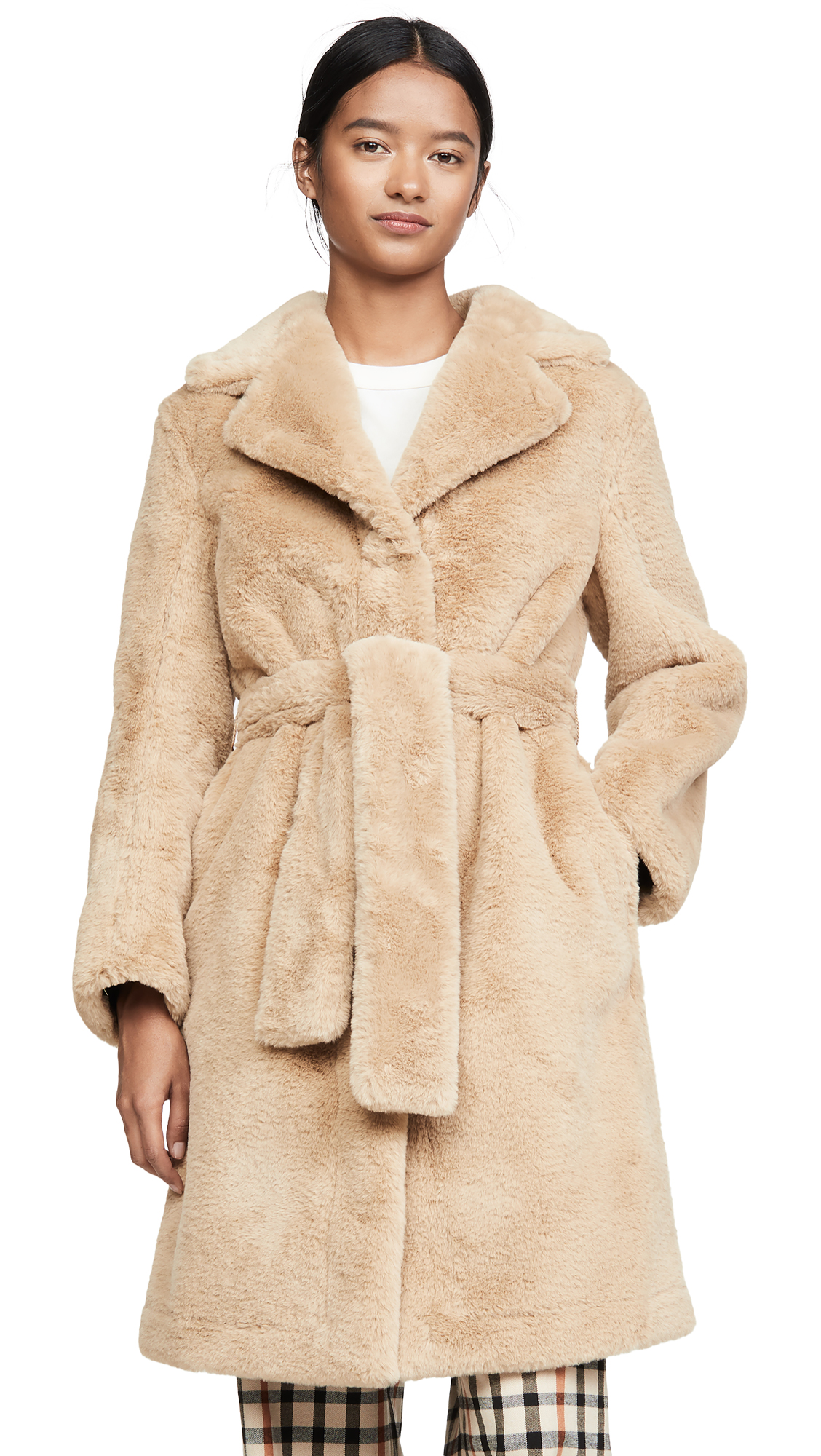 Buy Opening Ceremony online - photo of Opening Ceremony Reversible Faux Fur Coat