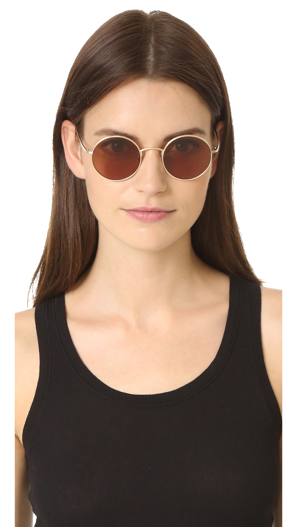 2dd676f09d Oliver Peoples The Row After Midnight Flat Lens Sunglasses