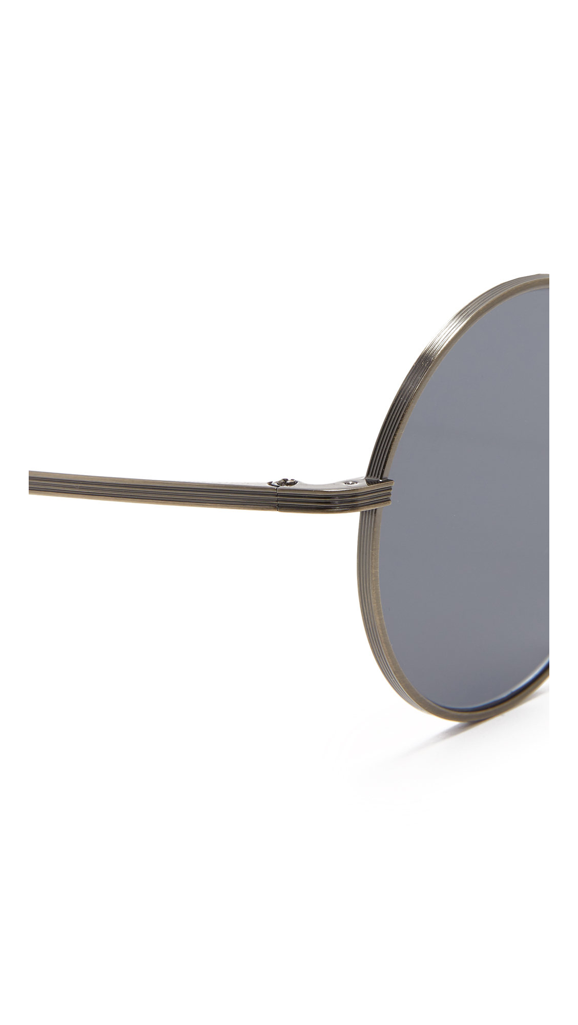 13a4c1fea5 Oliver Peoples The Row After Midnight Flat Lens Sunglasses