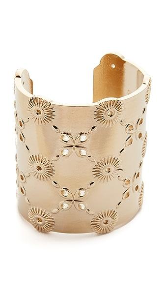 Oscar de la Renta Lace Cuff Bracelet