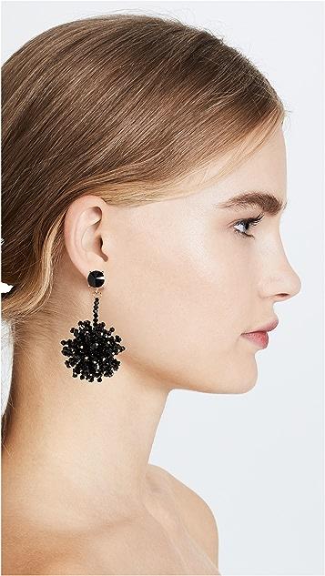 Oscar de la Renta Firework Drop Earrings