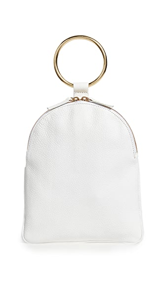 OTAAT/MYERS Collective Large Ring Pouch In White
