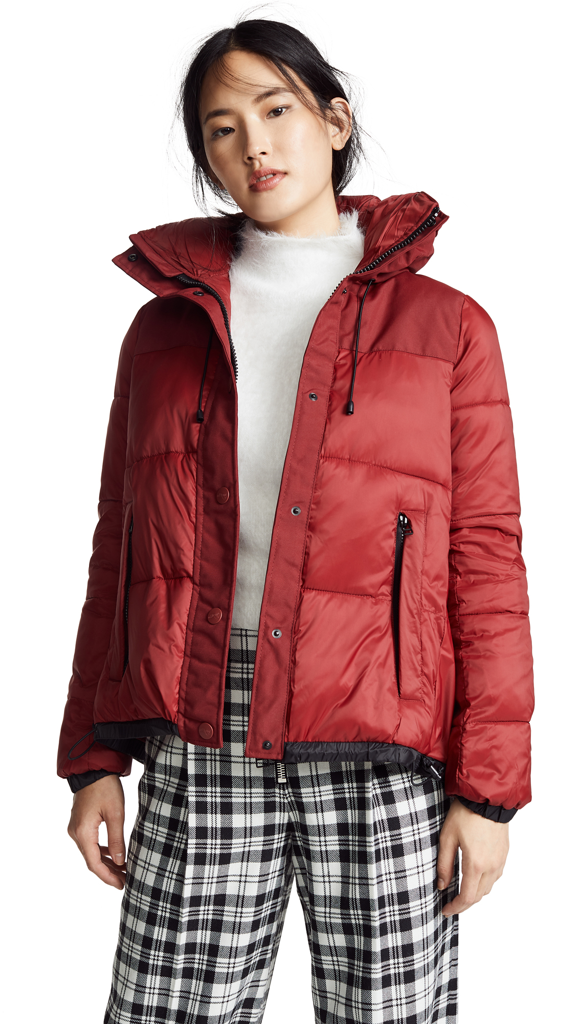 Cloud Puffer Jacket, Red