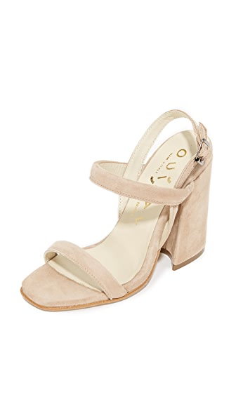 Ouigal Janet Sandals In Beige
