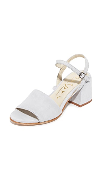 Ouigal Posie City Sandals - Grey