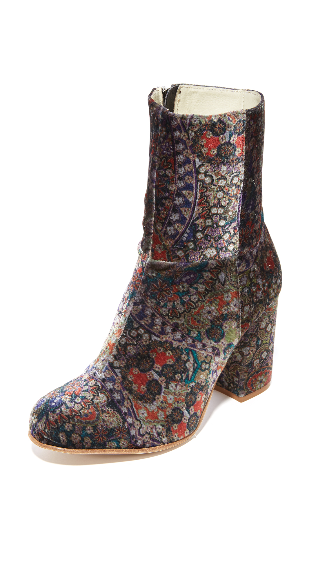 Ouigal Myra Booties - Japan Blue