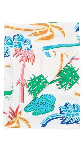 Our Legacy Graffiti Palm Scarf