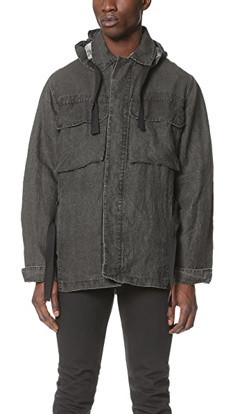 Our Legacy Coated Linen Artillery Parka
