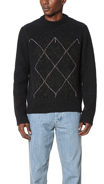 Our Legacy Base Argyle Sweater