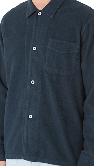 Our Legacy Peeled Flannel Box Shirt