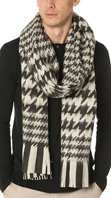 Our Legacy Houndstooth Scarf