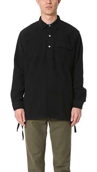 Our Legacy Ultimate Flannel Vented Popover Shirt