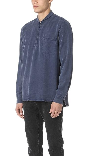 Our Legacy Shawl Zip Shirt