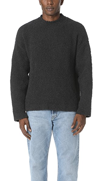 Our Legacy Fleece Round Neck Sweater