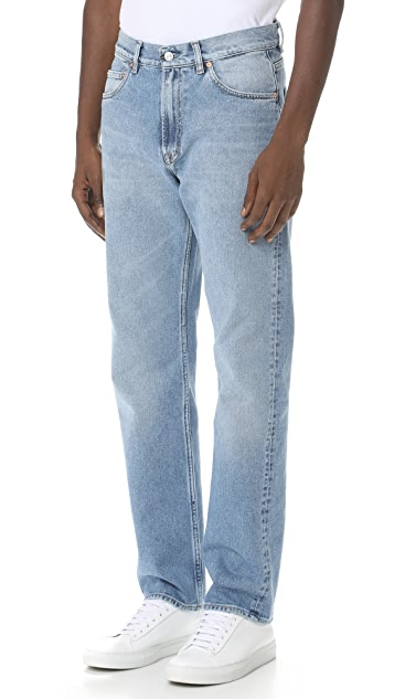 Our Legacy Second Cut Washed Denim Jeans