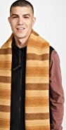 Our Legacy Striped Wool Scarf