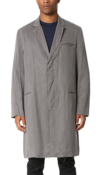 Ovadia & Sons Raw Edge Coat