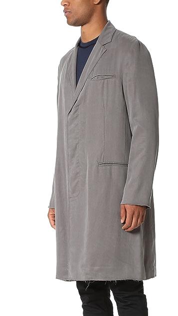 Ovadia & Sons Raw Edge Coat