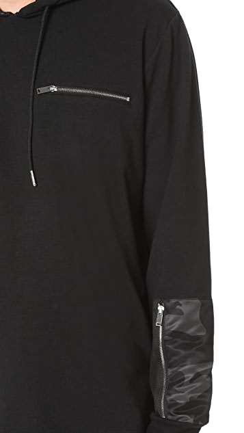 Ovadia & Sons Pullover Patch Hoodie