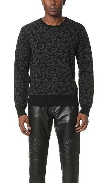 Ovadia & Sons Leopard Sweater