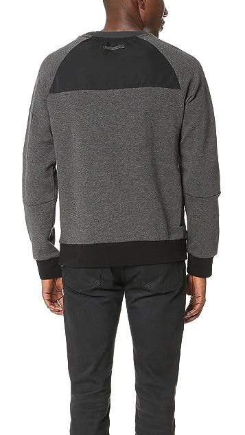 Ovadia & Sons Ovadia + 2 Tone Sweatshirt