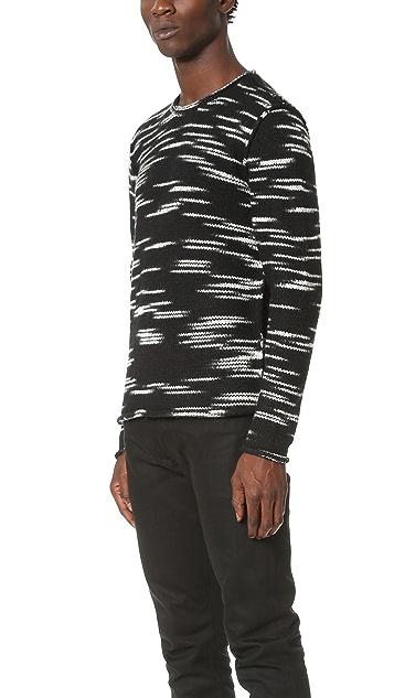 Ovadia & Sons Roll Edge Sweater