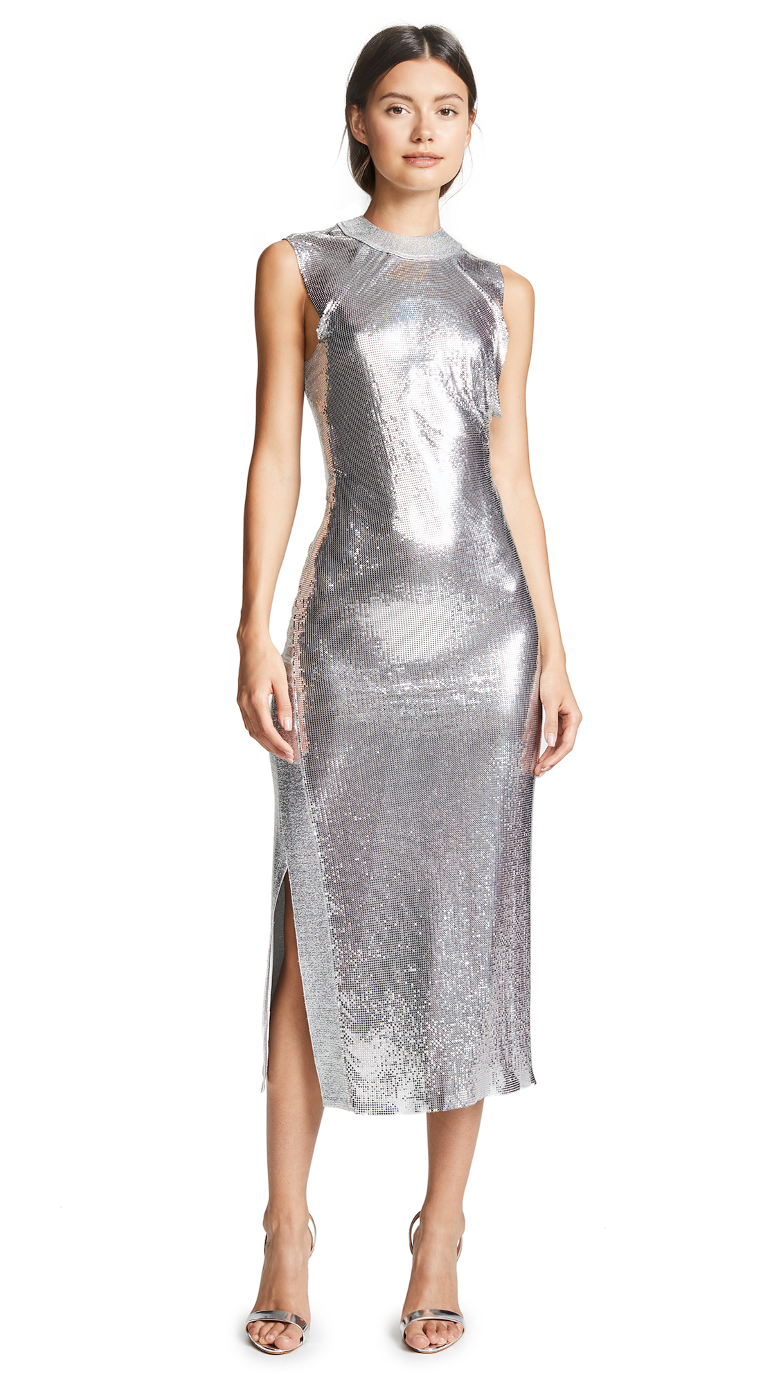 Buy Paco Rabanne Chainmail Dress online beautiful Paco Rabanne Dresses, Strapless
