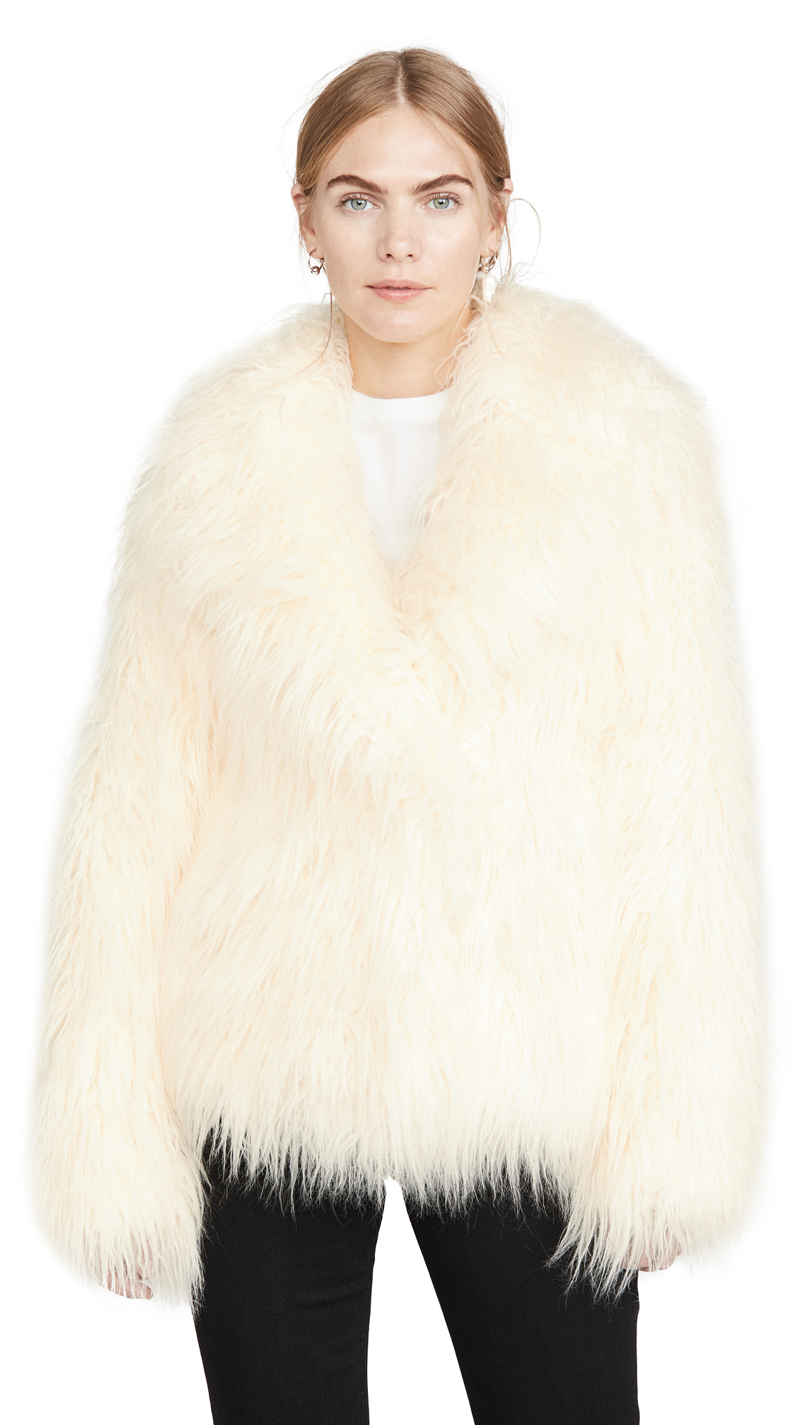Buy Paco Rabanne online - photo of Paco Rabanne Faux Fur Coat