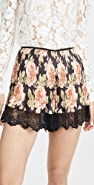 Paco Rabanne Floral Shorts
