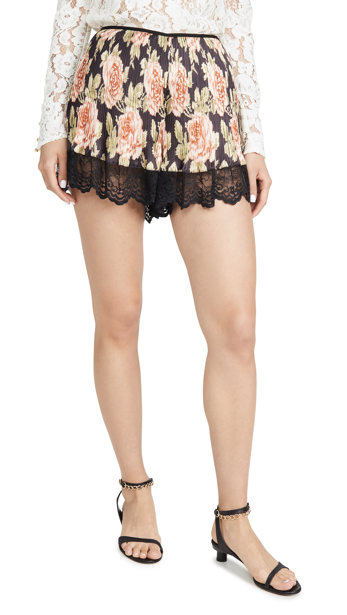 Buy Paco Rabanne online - photo of Paco Rabanne Floral Shorts