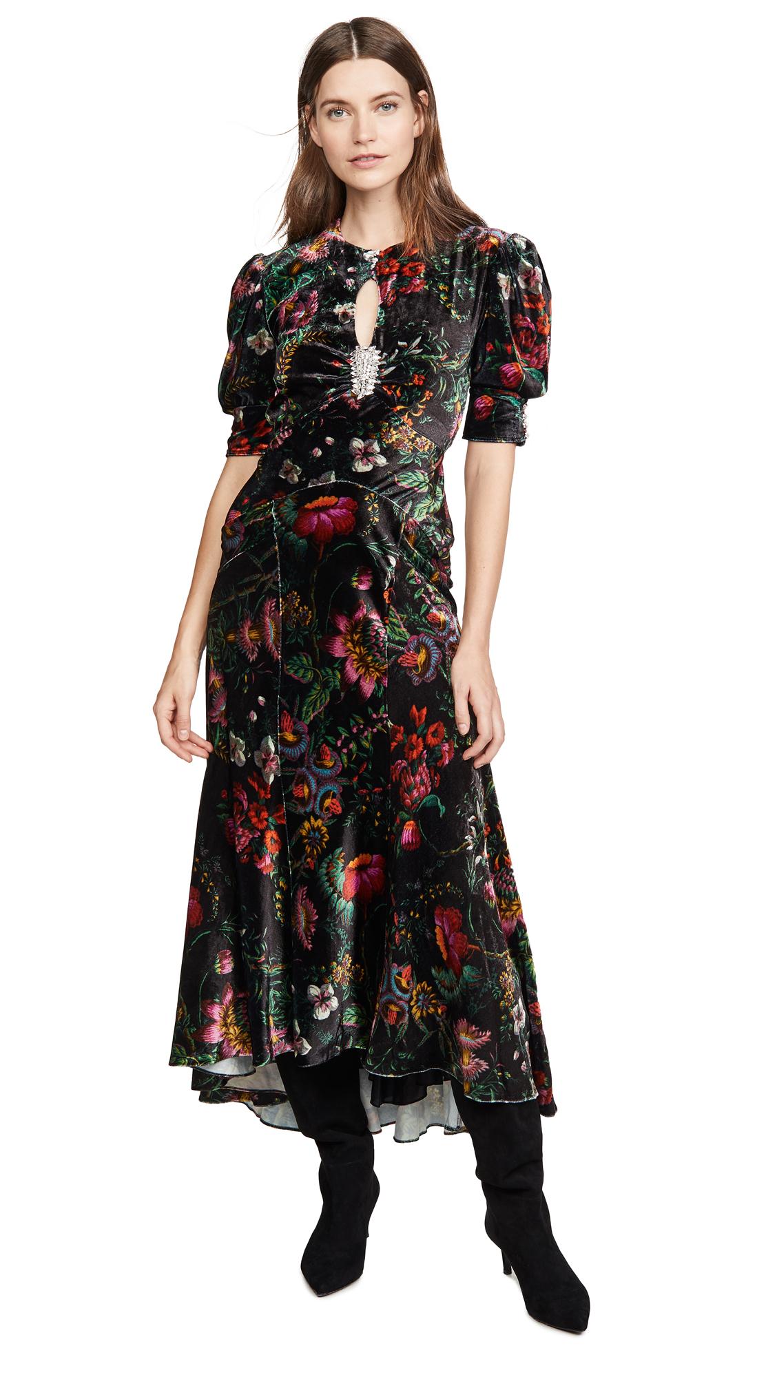 Buy Paco Rabanne online - photo of Paco Rabanne Velvet Dress