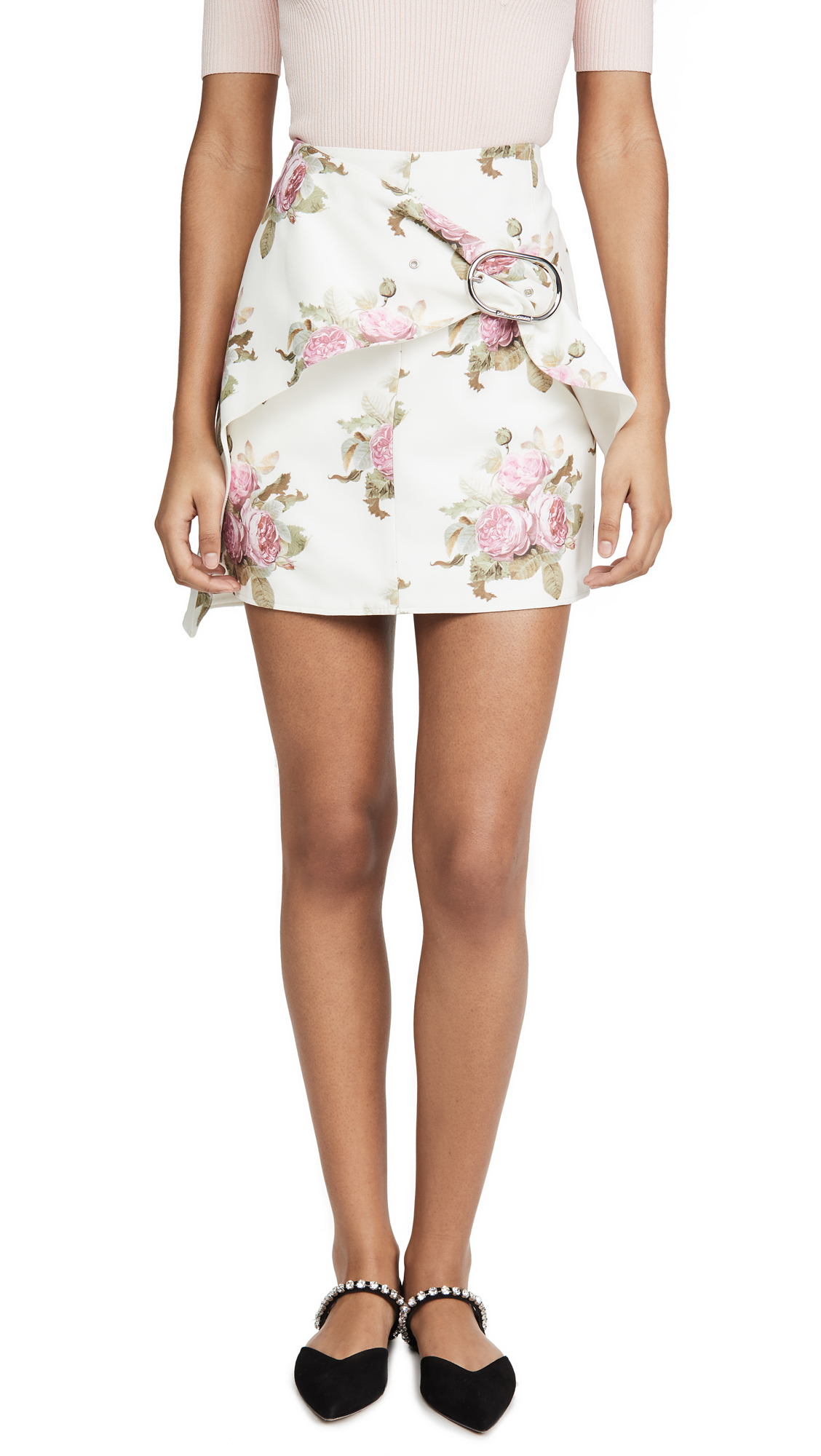 Buy Paco Rabanne online - photo of Paco Rabanne Printed Skirt
