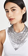 Paco Rabanne Triangle Scarf Necklace
