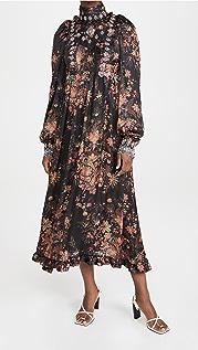 Paco Rabanne Balloon Sleeve Dress