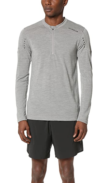 Porsche Design Sport by Adidas Tech Wool Long Sleeve Tee